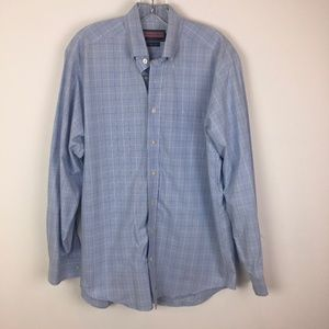 Vineyard Vines Murray Shirt blue size M men's